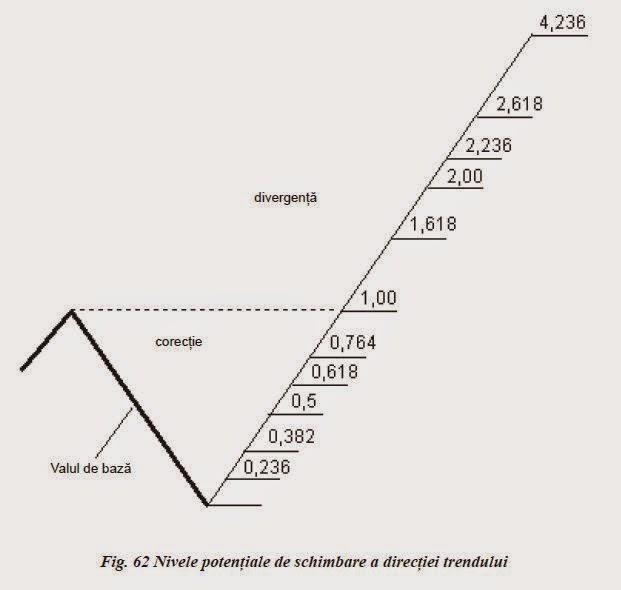 liniile de corectie fibonacci