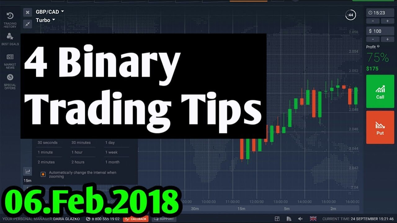 Binary Options Strategy Trader Tips