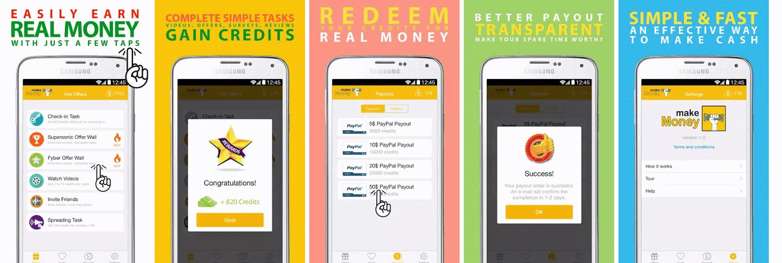 program pentru a face bani pentru Android recenzii despre opțiunea plus