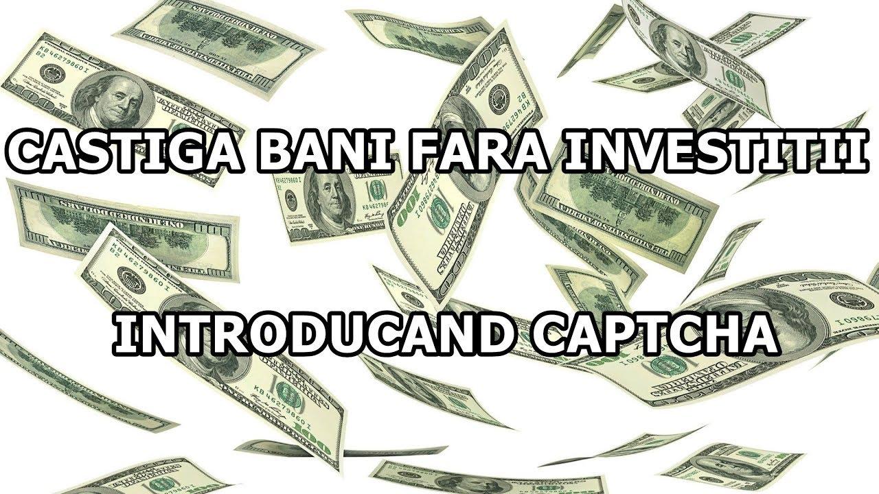 câștigați bani pe Internet fără investiții într- o lună