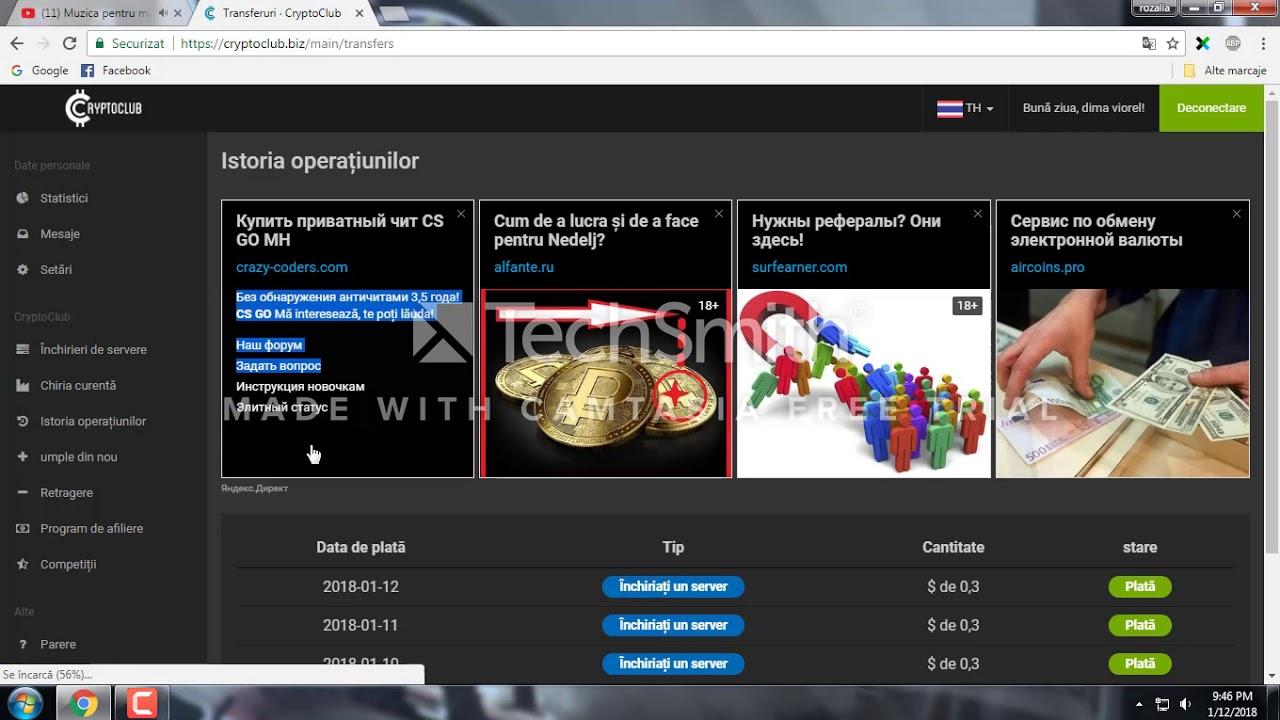 program pentru a câștiga bani pe Internet 2020