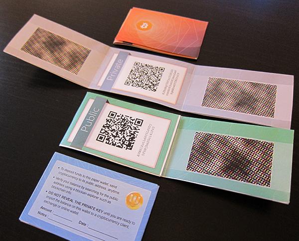 cum să stochezi bitcoin într- un portofel de hârtie