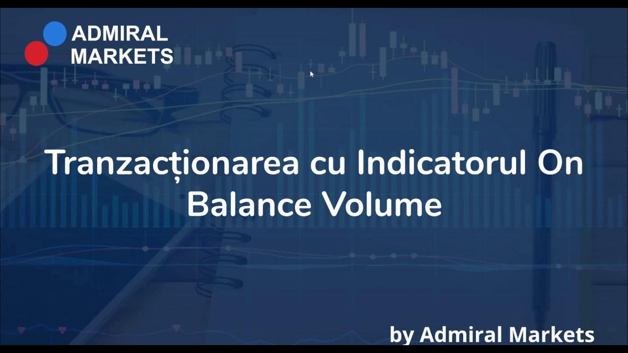 indicator de volum orizontal pentru vizualizări de tranzacționare