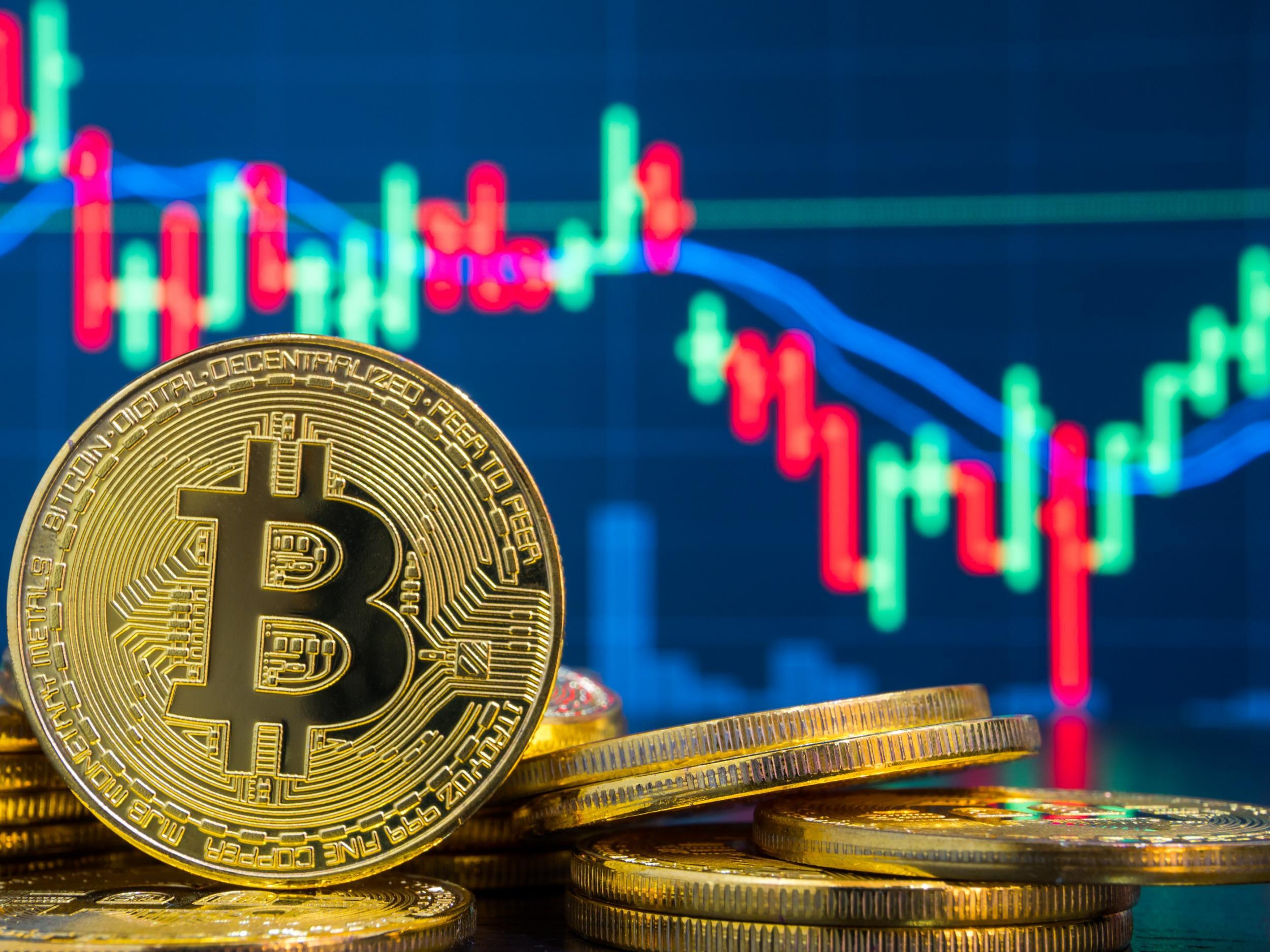 bitcoin a căzut astăzi