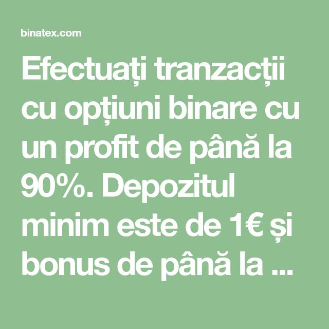 opțiuni binare cu profit