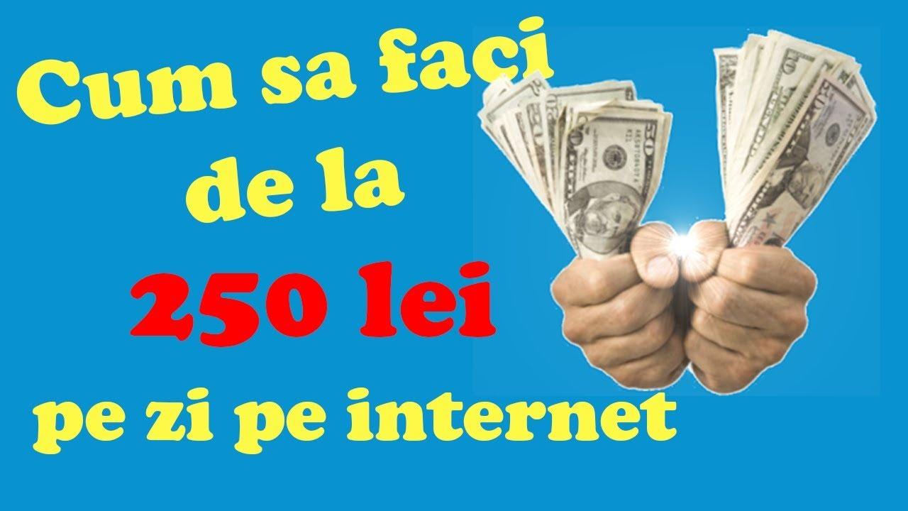 cum să faci bani pe internet cu investiții