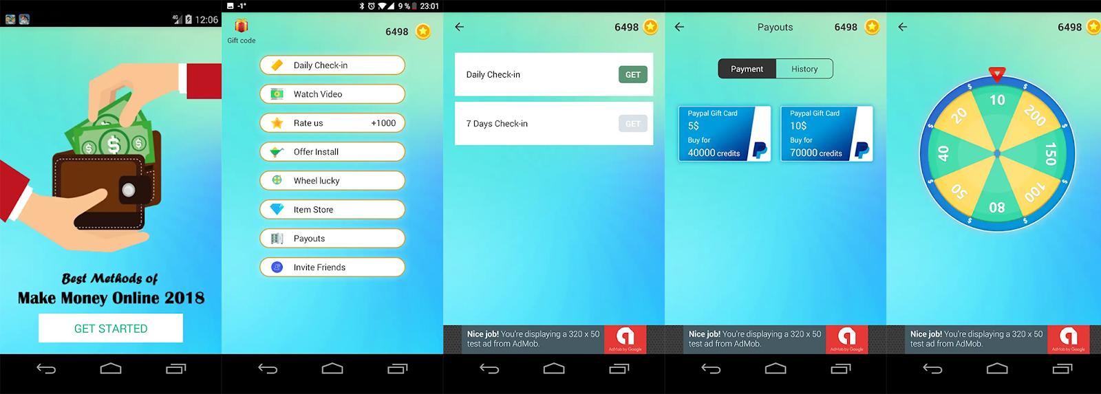 aplicații în care puteți face bani cu o retragere