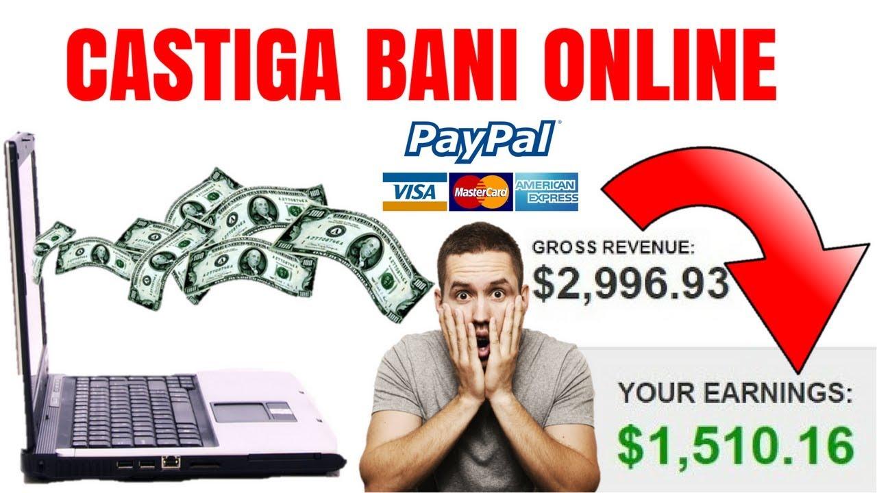 castiga bani pe internet